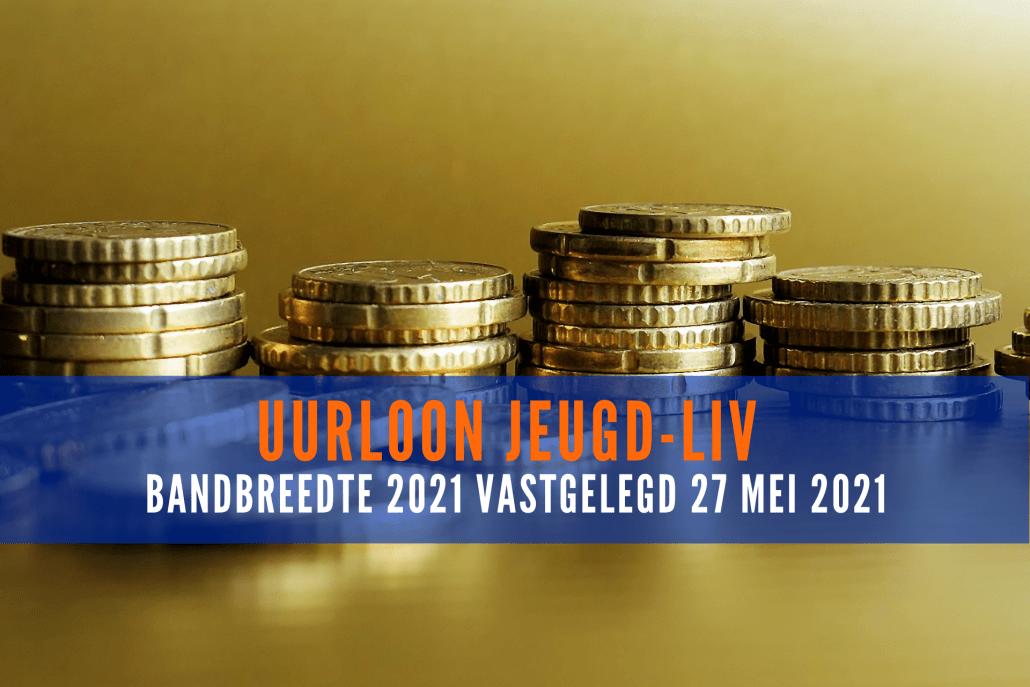 Bandbreedte uurloon jeugd-LIV 2021 vastgelegd